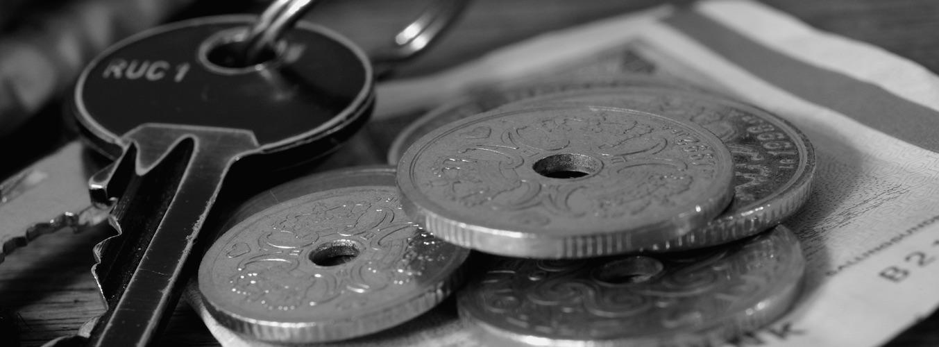 Fondo con monedas